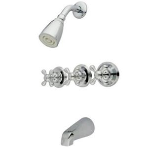 Kingston Brass KB231AX Tub & Shower Faucet - Polished Chrome