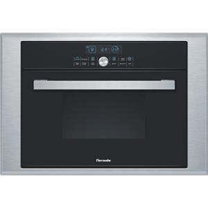 """Thermador Masterpiece 24"""" 1.4 cu. ft BLK Single Steam Convection Oven MES301HS"""