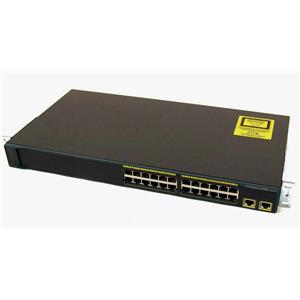 Cisco WS-C2960-24TT-L Catalyst 2960 24-Port 10/100 2 10/100/1000 Uplink Switch