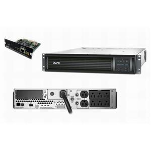 APC SMT2200R2X180 Smart-UPS 2200VA 1980W 120V 2U Power Backup AP9630 SMT2200RM2U