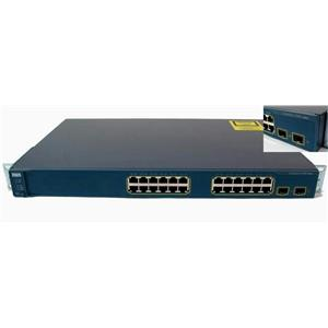 Cisco WS-C3560-24TS-S Catalyst 3560 24-Port 10/100 2 SFP Uplink Ethernet Switch
