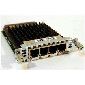 CISCO VIC2-4FXO (850072) MODEM 4-PORT FXO VOICE FAX INTERFACE CARD