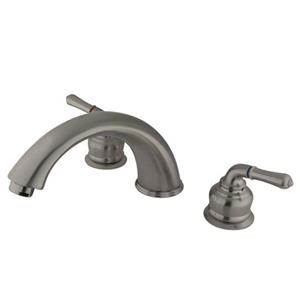 Kinston Brass Satin Brushed Nickel Roman Garden Tub Faucet Model KB368