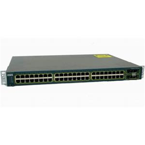 Cisco WS-C2950G-48-EI Catalyst 2950G Series 48 Port 10/100/1000 Ethernet Switch