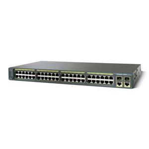 CISCO WS-C2960-48TC-L 48-PORT 10/1000AND 2-PORT GIGABIT DUAL-PURPOSE UPLINKS
