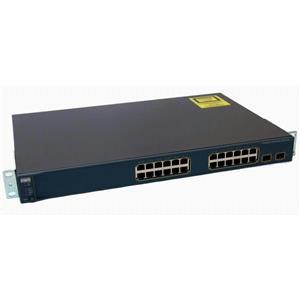Cisco WS-C3560-24PS-E Catalyst 3560 24-Port 10/100 PoE 2 SFP Ethernet Switch