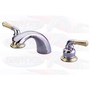 Kingston Bathroom Sink Faucet Polished Chrome KB954
