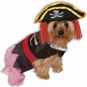 Pirate Pet Dog Halloween Costume Size Small