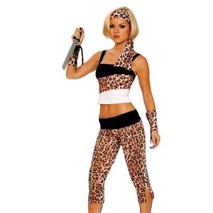 Safari Princess Jungle Sexy Cavewoman Adult Ladies Costume XL
