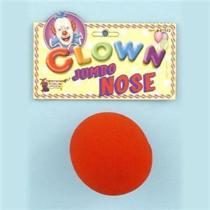 "Jumbo Foam Clown Nose 3"""