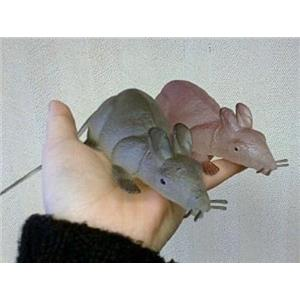 """12"""" Glow in the Dark Fake Rubber Rat or Mouse"""
