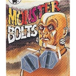 Plastic Monster Neck Bolts Frankenstein Costume Accessory