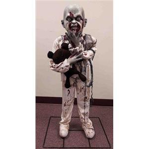 Little Boy Zombie Halloween Horror Prop