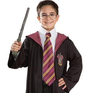 Harry Potter Tie Gryffindor Maroon Costume Accessory