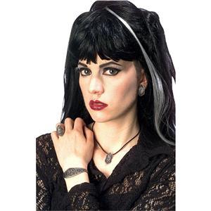 Renaissance Faire Ladies Gothic 5 Piece Vampiress Costume Jewelry Set