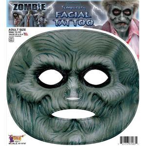 Zombie Temporary Facial Tattoo