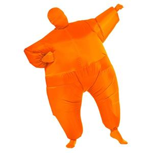 Orange Inflatable Adult Costume