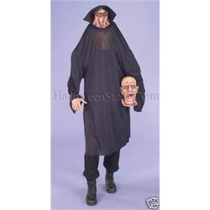 Severed Screams Horror Head Adult Costume Headless Man Puppet Scary