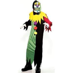 Cruel the Clown Adult Costume Size Medium