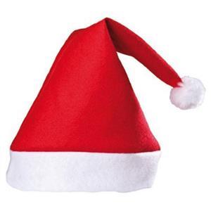 Adult Red Felt Santa Claus Hat
