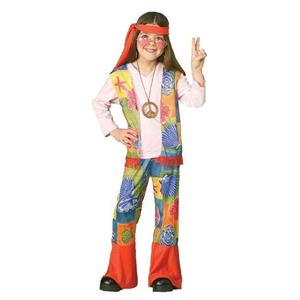 Hippie Girl Child Costume Size Small 4-6