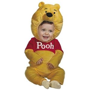 Winnie the Pooh Plush Infant Toddler Costume 12-18