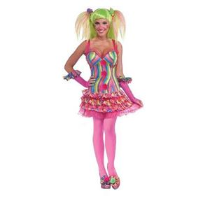 Tootsie the Clown Adult Costume Dress