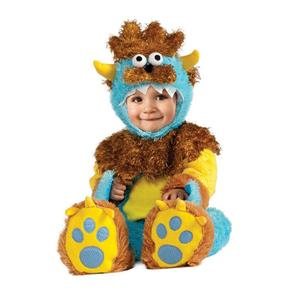 Teeny Meany Baby Monster Child Costume Toddler 12-18 months