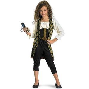 Pirates of the Caribbean: Angelica Pirate Classic Child Costume Size Medium