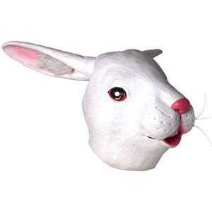 Deluxe Latex Rabbit Adult Mask