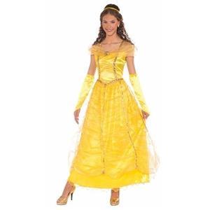 Golden Princess Adult Princess Yellow Ballgown Costume