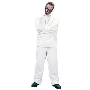 Fun World Maximum Restraint Straight Jacket Adult Costume Suit and Mask