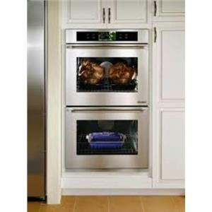 "Dacor Discovery iQ 30"" 4.8 cu. ft Double Electric Wall Oven Stainless DYO230S"