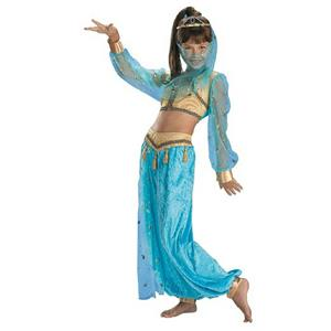 Mystical Genie Child Costume Size Medium 7-8