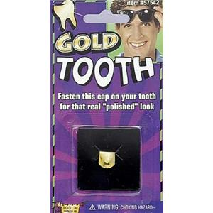 Pimp Gangster Gold Tooth Cover Cap