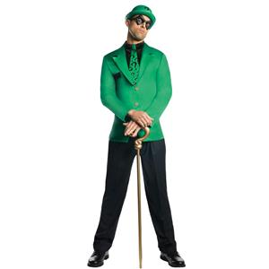 Men's Dc Super Villains Adult Riddler Costume Size Large