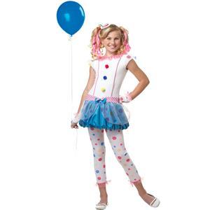 Dotsy Clown Tween Costume Size XL 12-14