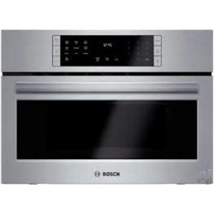 """Bosch 800 Series HMC87151UC 27"""" 10 Power Levels Speed Oven Stainless (4)"""