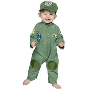 Air Force Military Pilot Infant Costume Jumpsuit 6-12 months