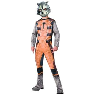 Guardians of the Galaxy: Rocket Raccoon Child Costume Size Medium 8-10