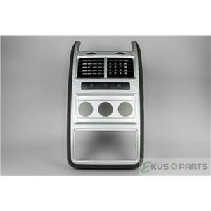 Dodge Journey Radio Climate Dash Trim Bezel with Power Inverter Switch 2009 2010