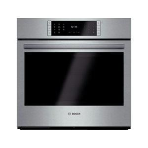 "Bosch Benchmark 30"" EcoClean Self-Clean SS Single Electric Wall Oven HBLP451UC"