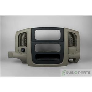 2002-2005 Dodge Ram 1500 2500 3500 Radio Climate Dash Trim Bezel with Vents