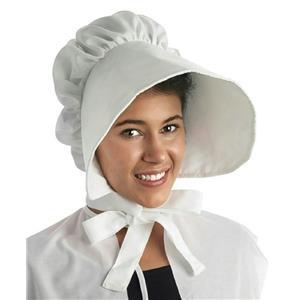 Large White Floppy Brimmed Bonnet Adult Hat