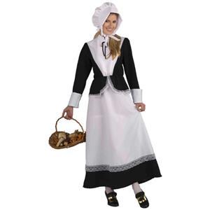 Forum Novelties Plymouth Pilgrim Woman Adult Costume
