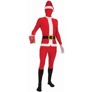 Santa Claus Disappearing Man Adult Costume Standard Size