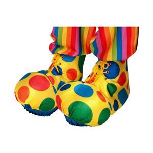 Polka Dot Clown Shoe Covers