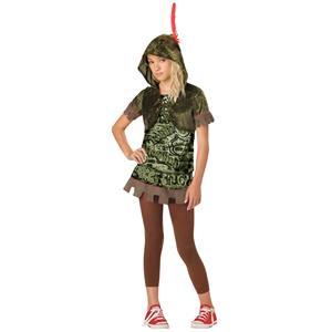 Robin Hood Hoodlum Girls Costume Size Medium 10-12