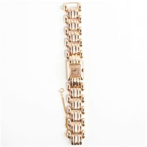 "Stunning Vintage 1930's 18k Yellow Gold Helva Wrist Watch 7"" Length"