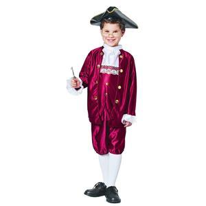 Boy's Benjamin Ben Franklin Child Costume Size Small 4-6